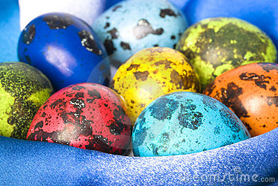 Colored Easter Eggs Royalty Free Stock Photo - Image: 13191425