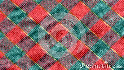 Colored fabric