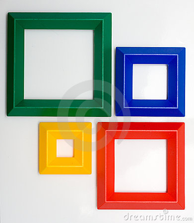 colored frames stock vector image 54387127