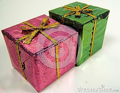 Colored Giftboxs