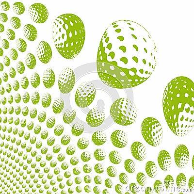 Free Colored Golf Balls Stock Photo - 1392970