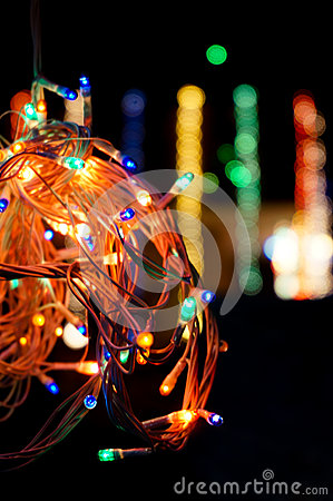 Colored LEDs for decoration