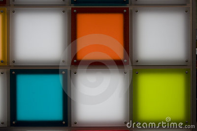 Colored Luminous Squares Royalty Free Stock Images - Image: 2735259