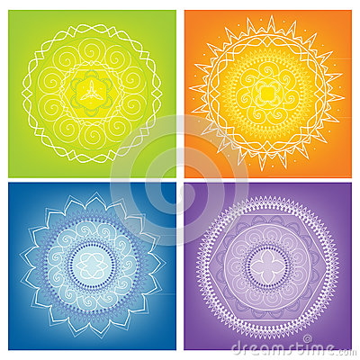 Colored Mandalas