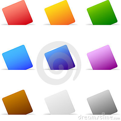 Colored Paper Set