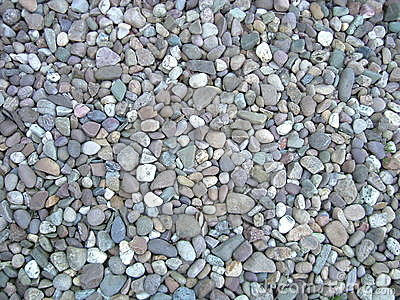 Colored pebbles
