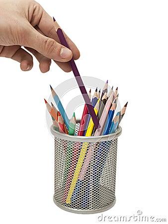 Free Colored Pencil Stock Photo - 18503220
