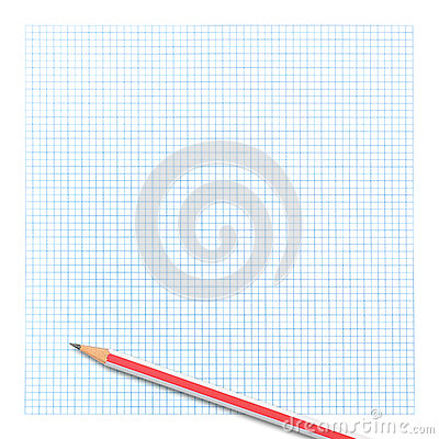 Colored Pencil On Graph Paper Photo Image 38829593 – Colored Writing Paper