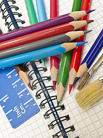 Free Colored Pencils Royalty Free Stock Images - 18503029