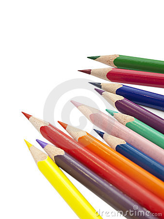 Free Colored Pencils Royalty Free Stock Photos - 18503298