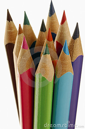 Colored Pencils Royalty Free Stock Photo - Image: 338845