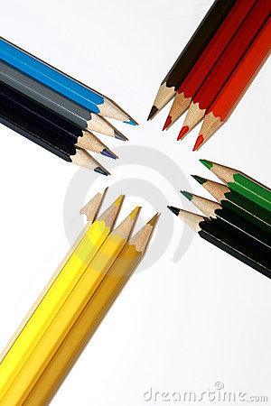 Free Colored Pencils Stock Photo - 3861140