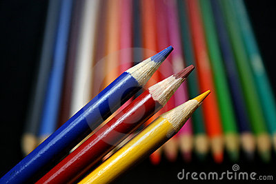 Colored Pencils (primary colors)