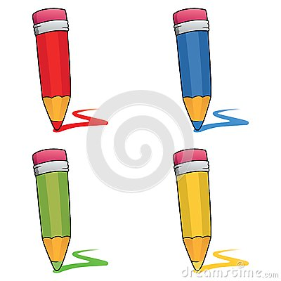 Colored pencils set