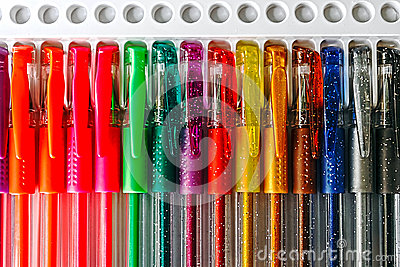 Colored pens