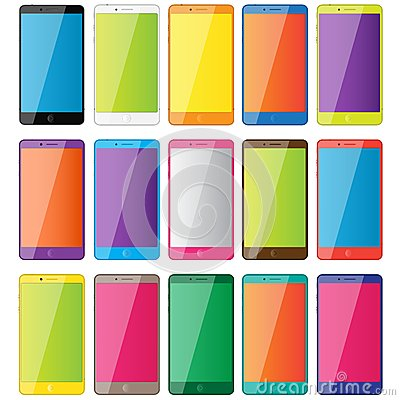 Colored phones