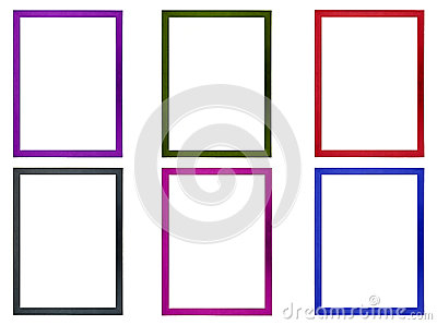 Colored Photo Frames