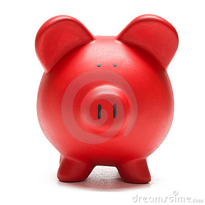 Free Colored Piggy Bank Stock Photo - 7551750