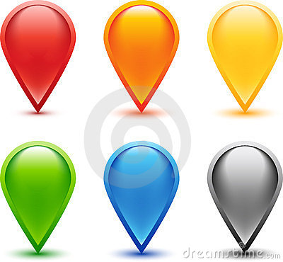 Colored Pin Set