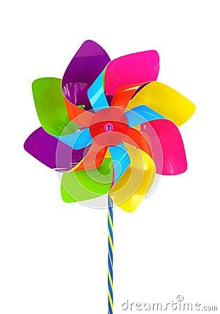 Free Colored Pinwheel Stock Photo - 9960790