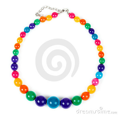 Free Colored Plastic Beads Royalty Free Stock Photo - 18955705