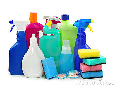 Colored Plastic Bottles Stock Photos - Image: 15865153