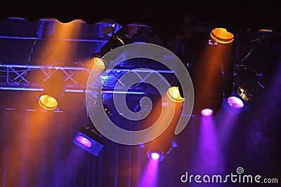 Colored projectors