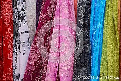 Colored scarfs