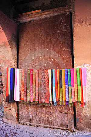 Free Colored Scarves Stock Photography - 7682492