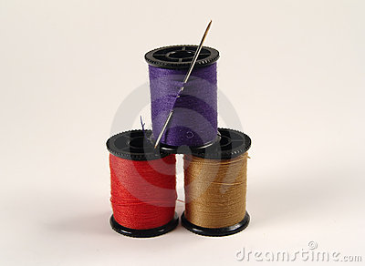 Colored Sewing Spools