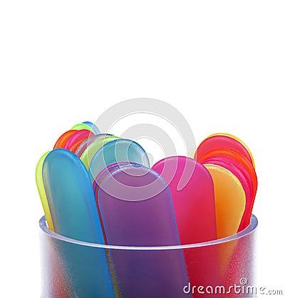 Free Colored Sticks Stock Image - 33163431