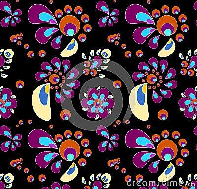 Colored swirly