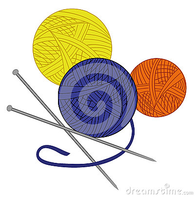 Free Colored Tangle Of Thread And Needles Drawn Vector Royalty Free Stock Images - 57600529
