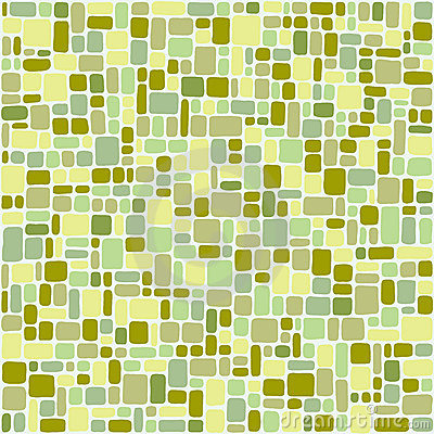 Colored tiles light green