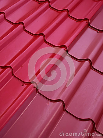 Free Colored Tin Roof Structure Royalty Free Stock Photo - 44195415