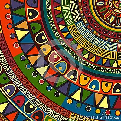 Free Colored Tribal Design Stock Photo - 38303680