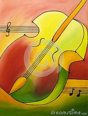 Colored Violin