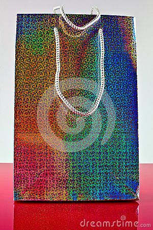 colorful gift bag