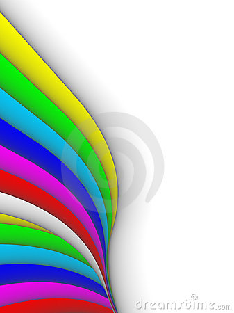 Colorful 3ds lines,  background