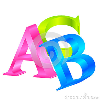 Colorful ABC