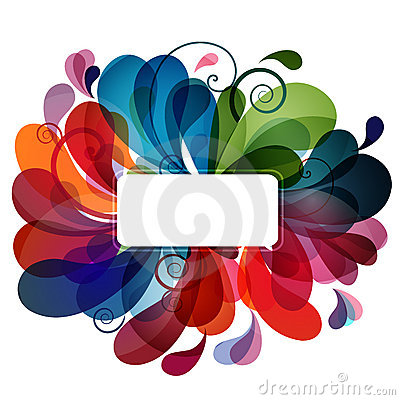 Colorful abstract background eps10