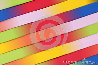 Colorful abstract background, in green, yellow, pink, blue, orange and red