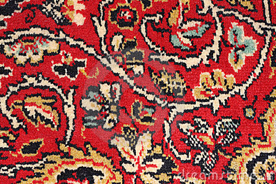 Colorful abstract carpet texture
