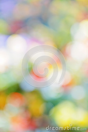 Colorful abstract defocused background