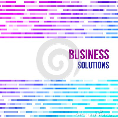 Free Colorful Abstract Geometric Business Background. Violet, Pink And Blue Geometric Shapes Random Mosaic Royalty Free Stock Images - 111564499