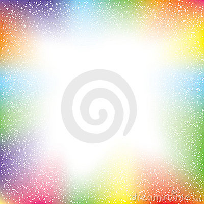 Colorful abstract with grunge texture