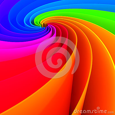 Colorful abstract lines for background
