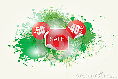 Colorful Abstract Sale Vector
