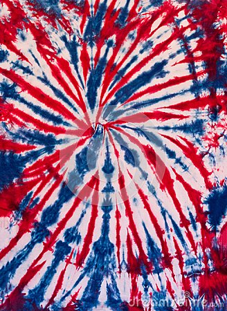 Free Colorful Abstract Tie Dye Pattern Design Blue And Red Stock Photography - 110235662