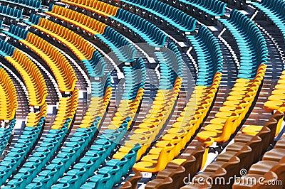 colorful auditorium